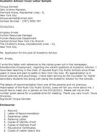 Cover Letter For Academic Job Sample Cover Letter For Faculty Job