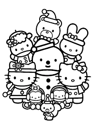 You can use the gray scale or black only setting to save on colored ink. Free Printable Hello Kitty Coloring Pages For Kids