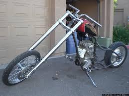 homemade chopper bike plans crazy homemade