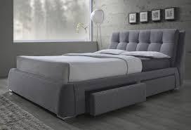 gray platform bed king. Modren King Fenbrook Gray King Platform Storage Bed And O