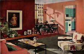 Home Decor Of The 1950's. 1950s InteriorItalian Interior DesignRoom ...