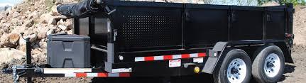faorm pt612 10kc dump trailer tandem axle