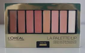 L Or Al Color Riche La Palette Lip Nude N 03 Review Swatches