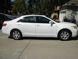 toyota camry 2007 white. 2007 toyota camry le sedan 4door 24l white w lt gray y