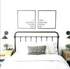 sunding master bedroom wall decor ideas
