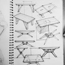 table design sketches.  Table Table Design Sketches For A Client Sketchaday Pilotfineliner Copic  Muji Sketchbook To Design Sketches Pinterest
