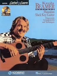 Hawaiian Slack Key Guitar Chord Chart Keola Beamer Teaches Hawaiian Slack Key Guitar Guitar Book And Cd Ne 000695338