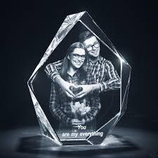 unique gifts 3d crystal prestige