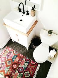 rustic bathroom rugs share cabin