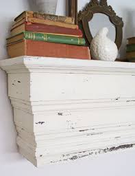 Pottery Barn Knock-Off - Chunky Wall Shelf (The Speckled Dog)