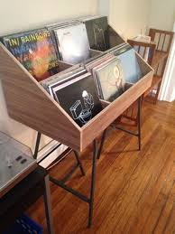 Vinyl record storage display holder Don t hide your records