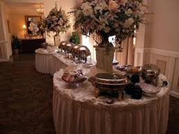 wedding buffet table decorating ideas photo gallery of reception 2 round tables on each end rectangle decoration