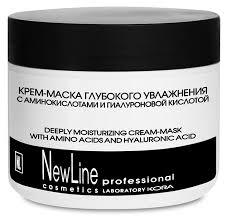 <b>NEW LINE</b> PROFESSIONAL <b>Крем</b>-<b>маска глубокого</b> увлажнения с ...