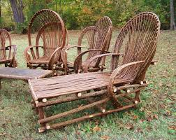 Willow Tree Branch Patio Furniture Custom Set