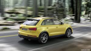 audi q 3 2018. fine 2018 2018 audi q3 20 tfsi quattro sline color tukan yellow  rear  threequarter wallpaper and audi q 3 s