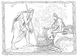 Norse Mythology Chart Norse Mythology Wikipedia