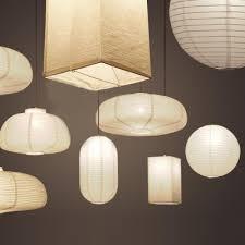 ... Exclusive Paper Mini Pendant Light In White By Designer ...