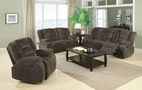 charlie collection padded velvet reclining sofa loveseat set
