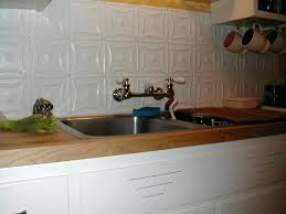 backsplash tin tiles white kitchens with tin back splash tin tile maple  counters and white kitchens