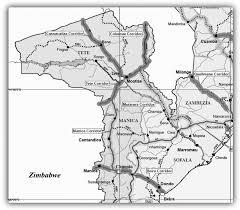 Resultado de imagem para mapa  tete machipanda