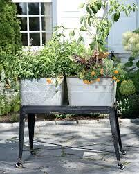 metal tub planter wash tub planter elevated garden metal wash tub planter metal oval tub planter metal tub planter