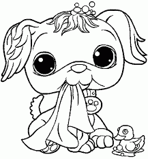 Small Picture Pet Shop Printable Coloring Pages Coloring Coloring Pages