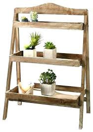 three tier wooden plant stand wooden plant stand plans outdoor wooden plant stands wooden plant stand for outdoor or greenhouse three shelves rustic plant
