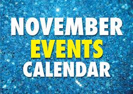 November 2019 Event Calendar Happenings Magazine