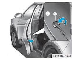 the child safety lock is provided to help prevent children seated in the rear from accidentally opening the rear doors the rear door safety locks should be