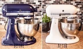 Kitchen Aid Kitchen Appliances Painting Your Kitchenaid Mixer