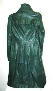 long green jacket before re dye long las leather