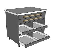 multi purpose tool cart pdf plan