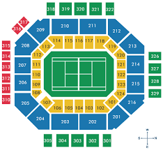 Us Open Seating Chart Volvo Car Open