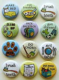 Magnetic Chore Chart Buttons Cute Idea For A Chore Chart With Diy Magnets Chore Magnets