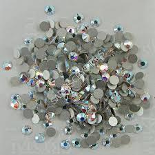 Swarovski Kamínky Na Nehty Crystal Ab Ss10