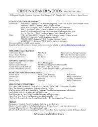 Resume With Accent Bakers Resume Baker Resume Objective Examples Resume Template 66