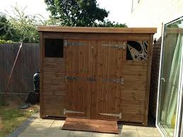 quality shed great service recommended shed owned 8x4 pent c beast