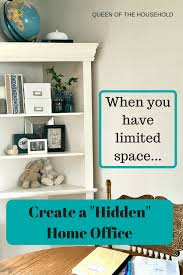 making a home office. If You Have Little To No Space For A Home Office, Make Hidden Making Office