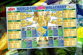 World Cup Wall Chart Download Our Free Brazil 2014 World