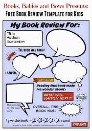 best book reviews ideas book review  books babies and bows printable book review template for kids