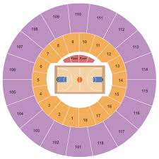 Indiana Basketball Seating Chart Mackey Arena Seating Chart West Lafayette