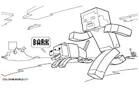 Minecraft 1 Jeux Vid Os Coloriages Imprimer