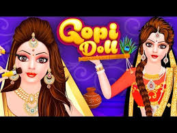 gopi doll fashion salon dress up game