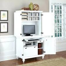 office armoire ikea. Brilliant Ikea Corner Desk Armoire White Home  Styles Bermuda Brushed Compact In Office Armoire Ikea