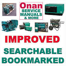 onan industrial stationary engine manual and book onan b43e b43g b43m b48g b48m engine service repair parts manual 10 manuals