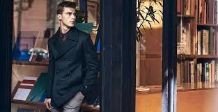 mens long pea coat fashion style jacket black mens pea coat jackets canada mens grey pea coat canada
