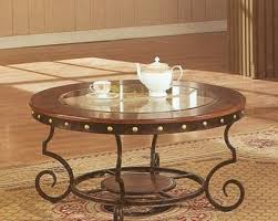 glass wrought iron coffee table best professionally designed good luck to all those who try simple