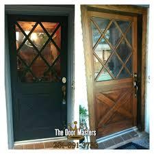 How To how to refinish front door images : Front Doors : Home Door Ideas Refinish Front Door Diy Wood Door ...