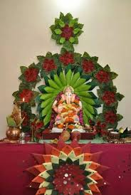15 best ganesh idol decoration at home images