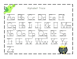 Abc Tracing Sheets Free Letter Worksheets Printable Lowercase ...